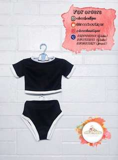 Crop top terno wimsuit