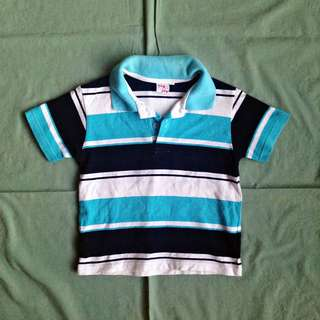 Big Joy Baby Boy Blue Polo Shirt