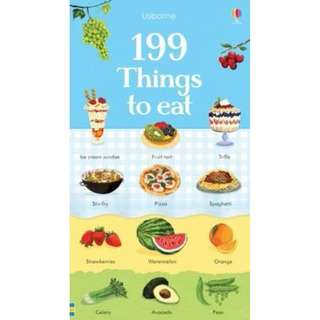 @(Brand New) 199 Things to Eat 199 Pictures   By: Hannah Watson, Nikki Dyson (Illustrator) -  Board Book