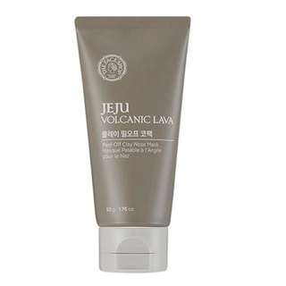 The Face Shop - Jeju Volcanic Lava - Peel-Off Clay Nose Mask