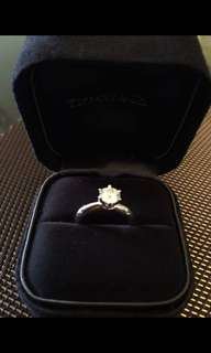 Tiffany and co diamond ring