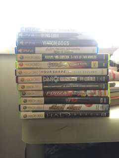 PS4 / XBOX 360 Games