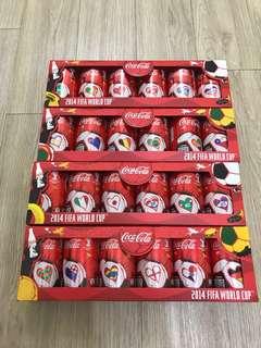可口可樂2014年FIFA世界杯可樂罐(非賣品)