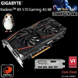 Gigabyte RX 570 Gaming 4G MI Radeon™..