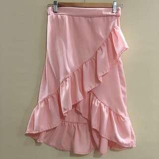 (BRAND NEW) Blush long skirt