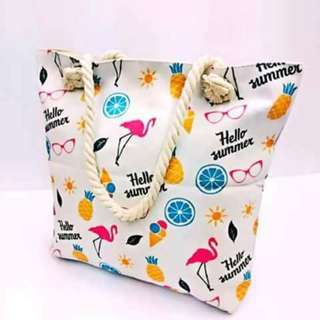 New arrival Best for summer bag 🔖280  Washable material tela Size:15inch ✴js