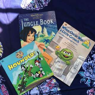 Set of 3 kid's books