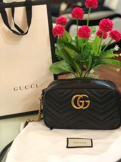 Gucci camera bag small