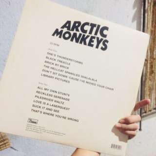 Arctic Monkeys Vinyl Record (suck it and see album)