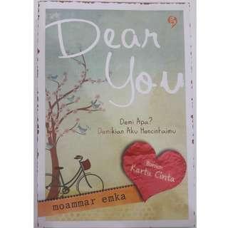 Dear You - Moammar Emka - BONUS 2 Kartu Cinta - Bahasa Indonesia