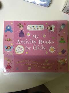 Bloomsbury Activity books for girls