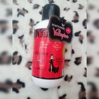 Vampire whitening body lotion