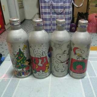 Pepsi 百事可樂 - Snoopy 鋁罐一套4款