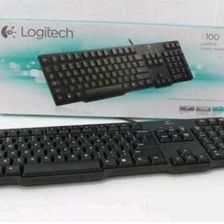 Keyboard logitech k100 ps2