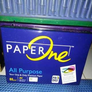 Kertas A4 Paper One 80 gram