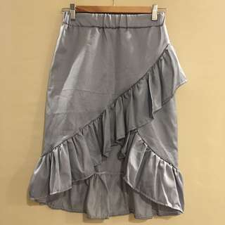 (BRAND NEW) Stripes shimmy skirt