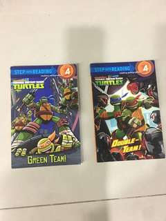 Teenage Mutant Ninja Turtles Storybooks
