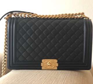 Chanel Boy new medium