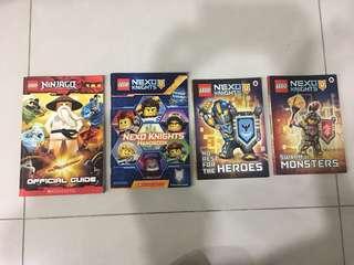 Lego Nexo Knights & Lego Ninjago Storybooks Set