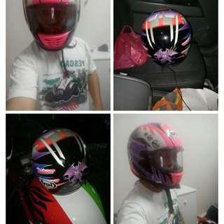 Helmet arai tetsuya harada