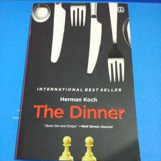 "Novel ""The Dinner"" - Herman Koch"