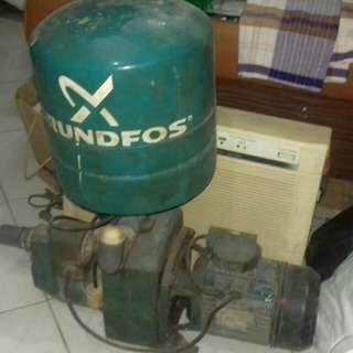 Mesin pompa air merek grundfos