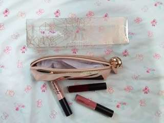 MAC SNOW BALL MINI LIP GLOSS KIT/ROSE