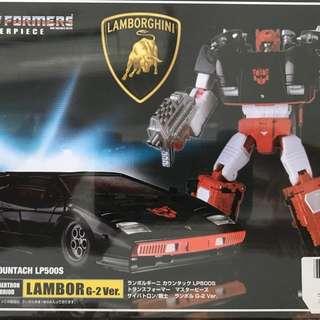 Transformers Masterpiece MP-12G Lambor G-2 Ver.