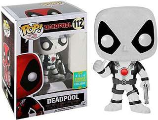 [PO]Black and White Deadpool Funko Pop(2016 Summer Convention Exclusive)