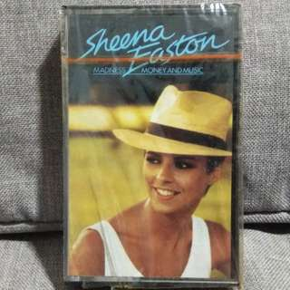 arthcs SHEENA EASTON Madness, Money and Music Cassette Tape (Brand New Sealed) - Machinery, Ice Out In The Rain, Wind Beneath My Wings etc
