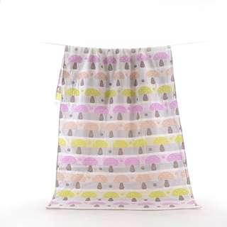 纯棉嬰兒浴巾 新生兒童寶寶洗澡浴巾6層纱布蓋毯被子毛巾被 超柔吸水 嬰兒棉被毯子 浴巾 大人浴巾 大浴巾 包巾 兒童棉被