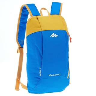Backpack Quechua Arpenaz 10 Blue Yellow