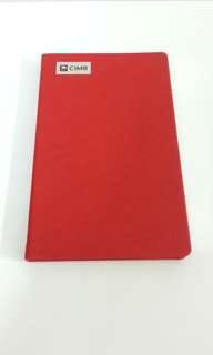 CIMB Notebook Diary