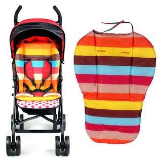 """HOT ITEM"" Rainbow Baby Stroller Cushion Pram Pushchair Liner Pad Cover Mat Car Seat Chair"