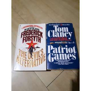 Patriot Games and The Devil's Alternative (Take 2 for 90 PHP)