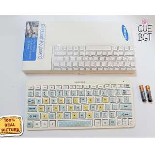 Keyboard bluetooth original SAMSUNG FREE battery