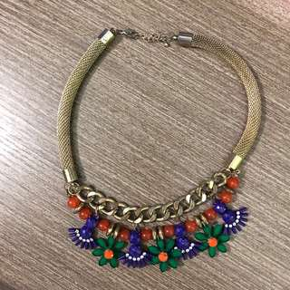 Zara necklace 民族風頸錬