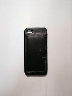 [RARE] IPhone SE Wallet Case (Black)
