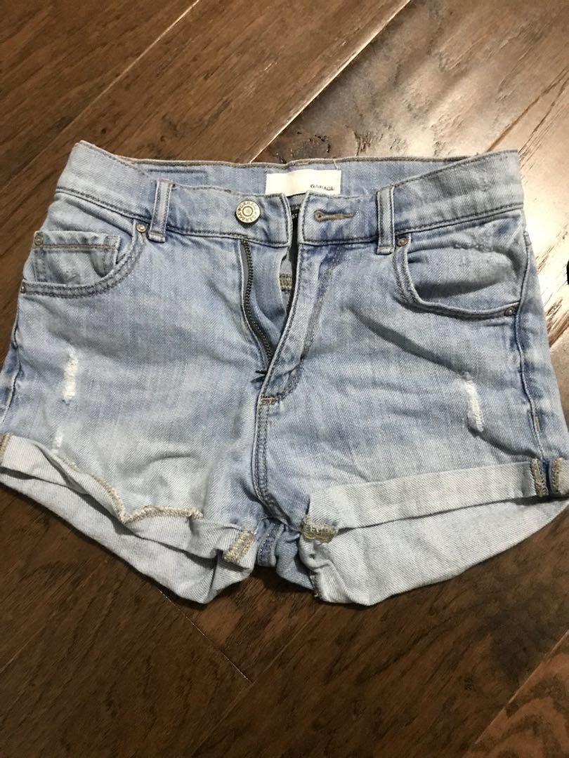 00 Garage highwaisted shorts