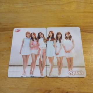 Apink Yescard 2張