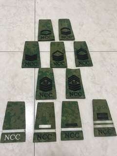 Complete collection of NCC RANKS(EXC C/CPT)