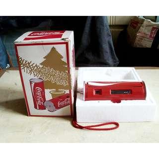 90年代可口可樂聖誕美版罐式菲林相機一部