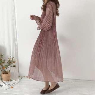 🚚 百折洋裝裙