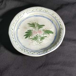 Flower blue and white porcelain