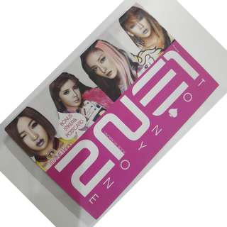 2NE1 BOOK - BISA NEGO - Unofficial Book - by @2NE1INDO - Bahasa Indonesia