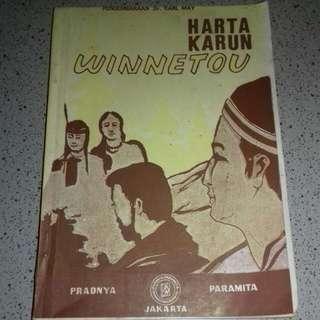Buku edisi pertama*Rare*, pengembaraan Dr Karl May, Harta Karun Winnetou