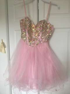 PROM/HOMECOMING PINK DRESS