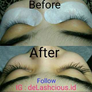 Eyelash extension murah