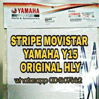 STRIPE YAMAHA Y15ZR MOVISTAR ORIGINAL HLY (NEW)