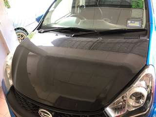 hood carbon myvi icon